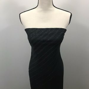 EXPRESS WOMEN'S SIZE 5/6 STRAPLESS BLACK DRESS